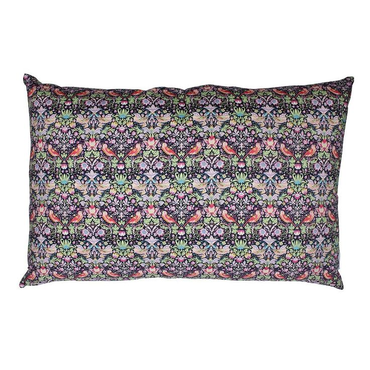 Liberty Cushion Strawberry Thief Multicolor 50x30 cm