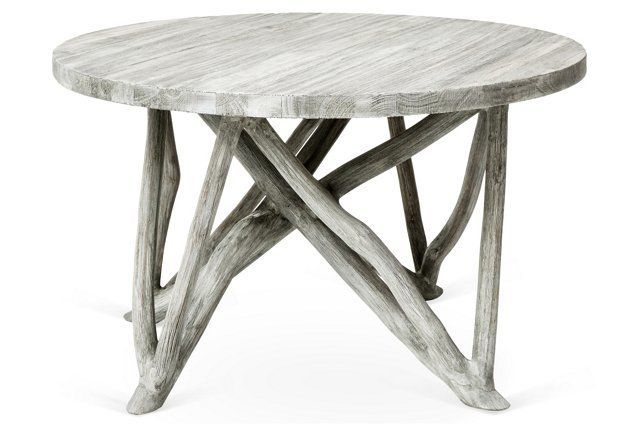 Washed Grey Coffee Table Exudes Character And Warmth