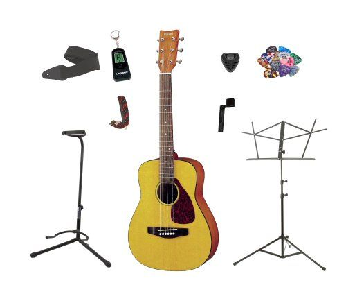 Yamaha FG JR1 3/4 Size Acoustic Guitar with Gig Bag, with Bonus LEGACY Brand 30 PC Accessory Kit http://pinterest.com/pin/164240717630430310/