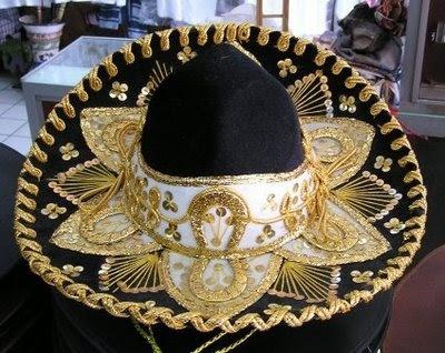 Image detail for -Sombrero de charro mexicano