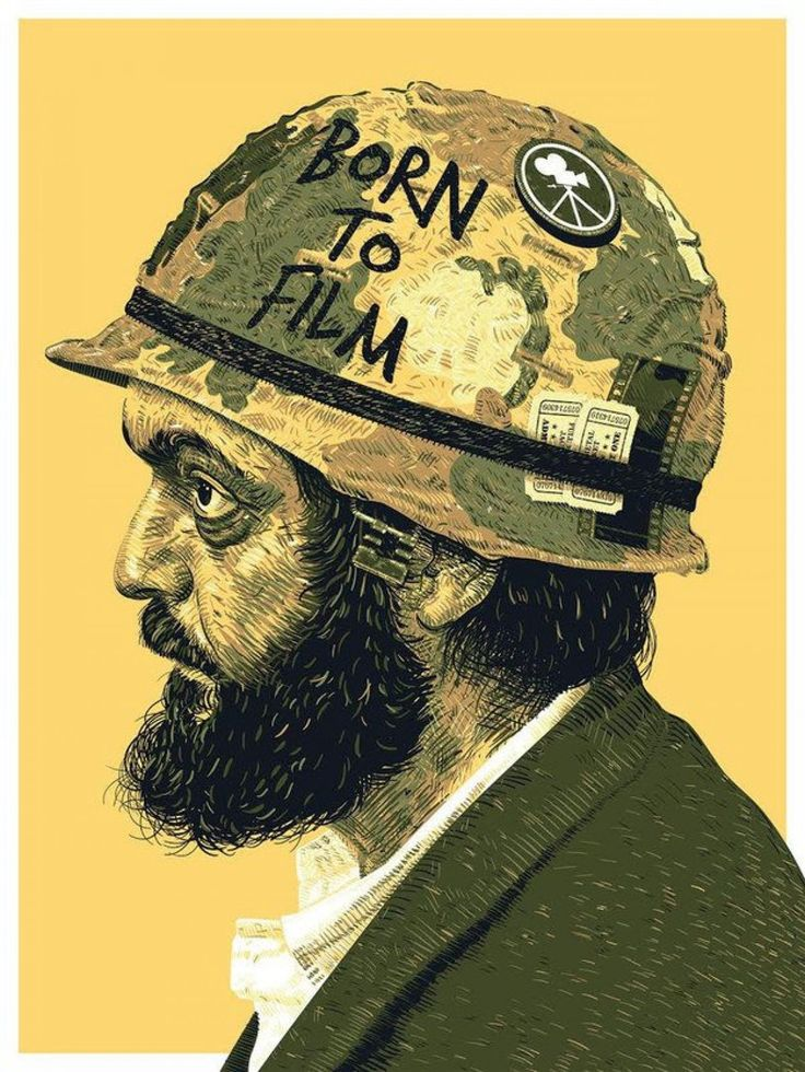 """BORN TO FILM"" by Guillaume Morellec. Happy Birthday, Stanley Kubrick 