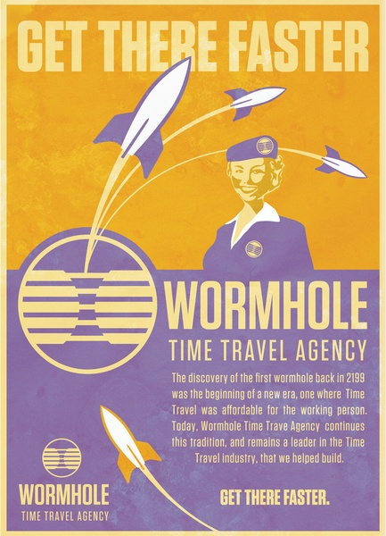 Wormhole Travel Time
