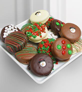 Chocolate Covered Dipped Oreos   Fun Homemade Christmas Gift Ideas!