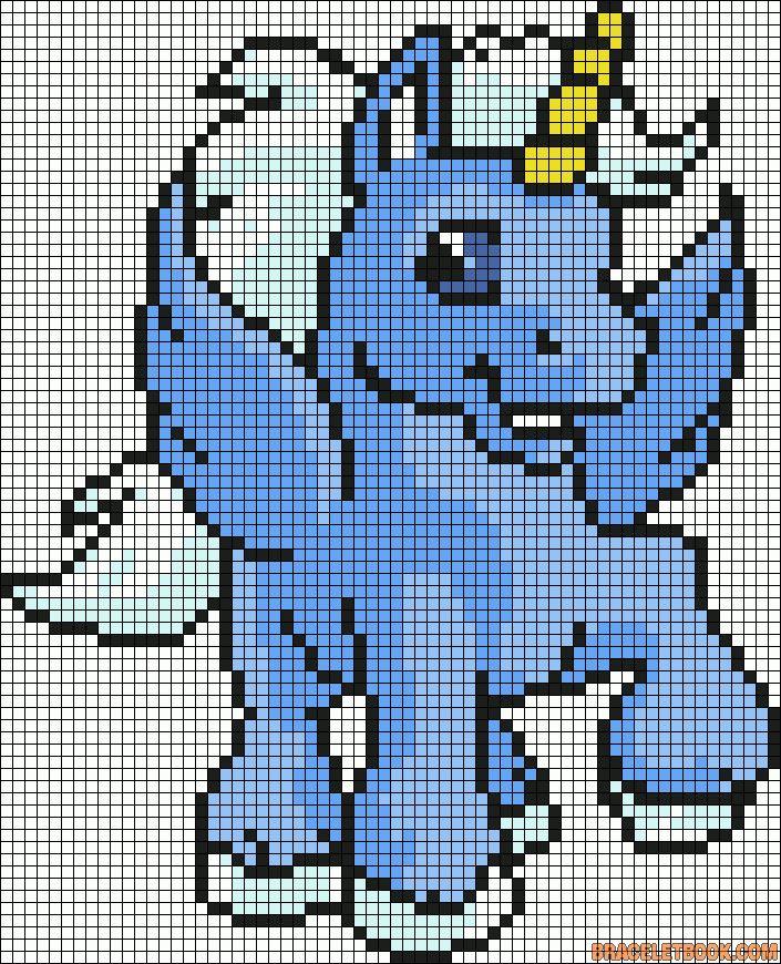 Alpha Friendship Bracelet Pattern #1411 - BraceletBook.com