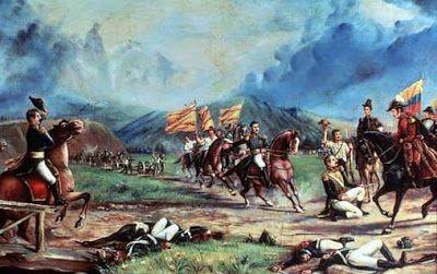 LA GLORIOSA BATALLA DE BOYACÁ EN 7 DE AGOSTO DE 1819