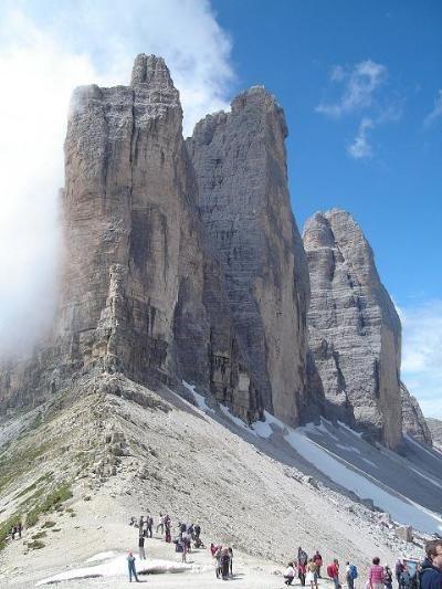Trekking w Dolomitach, Marmolada, Sella, Civetta, Włochy, Sporty Ekstremalne i Trekkingi, Trekking, Ecotravel - wczasy kolonie obozy młodzie...