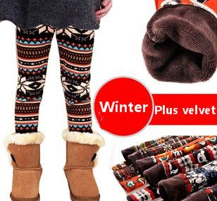 Зимние девушки поножи плюс толстый бархат леггинсы девушки брюки детская одежда леггинсы для девочек теплый 1 шт. 4-12 год US $12.97