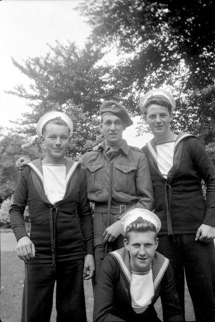 #vintage #sailors #group