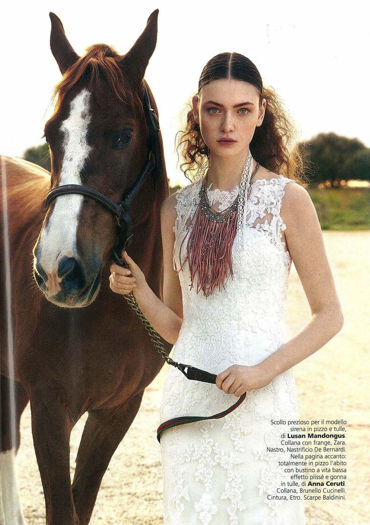 Lusan Mandongus | Vogue Sposa Mar issue 2015 p107