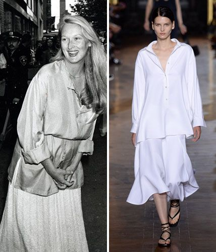 Then and Now: These Sexy '70s Trends Are Making a Comeback - The Tunic-and-Skirt Combo  - from InStyle.com