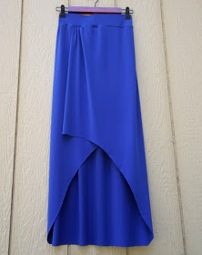 Morning by Morning Productions: High Low Maxi Skirt Tutorial