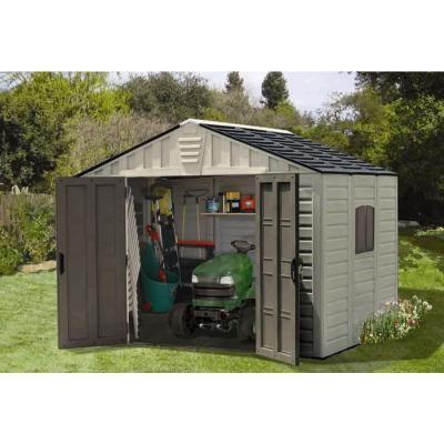 keter stronghold resin storage shed