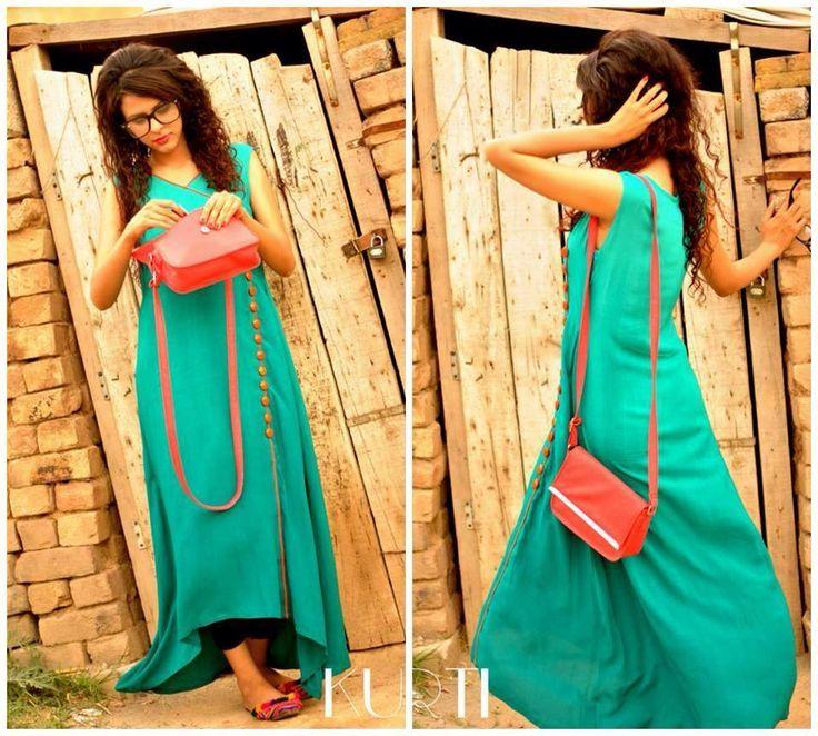 KURTI-New-Summer-Dresses-Collection-2014-3.jpg (960×864)