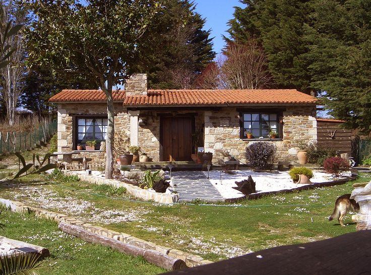 Una bonita casa de r sticas podemos considerarla como - Casas rusticas gallegas ...