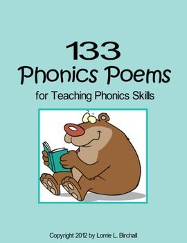 Phonics and fun? This 75 page phonics poetry anthology includes 133 rhyming poems designed for targeted phonics instruction and fluency building.  Phonics teaching doesn't have to be dry or boring!  Key Search Terms:phonics poetry, phonics poems, phonics teaching, Let the power of poetry help you teach smarter, not harder!Lorrie L.