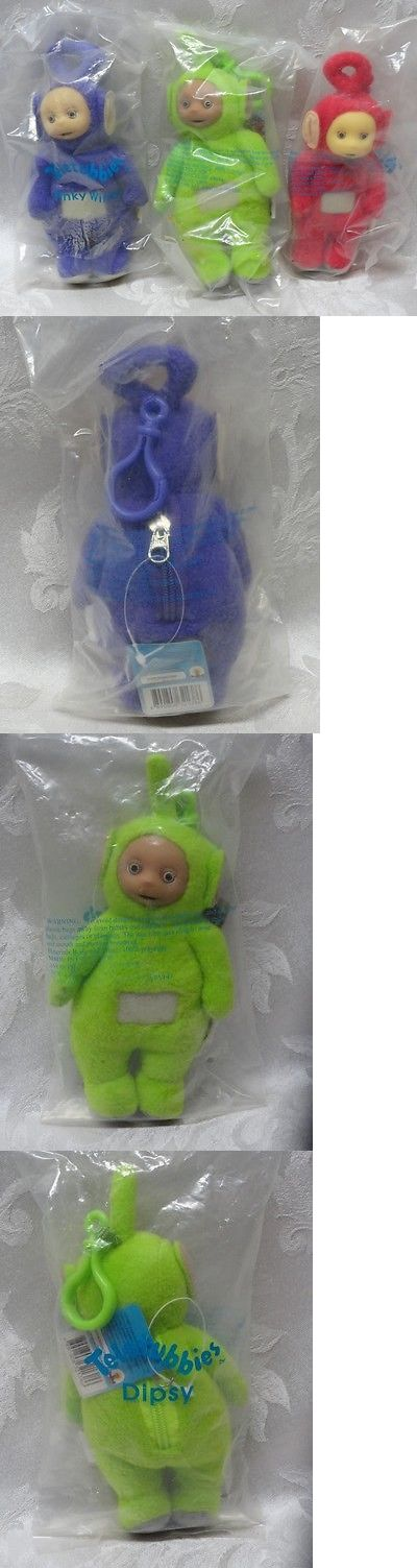 Teletubbies 756: Teletubbies New 3Pc Keychain Bbc Television Dispy Tinky Winky Po Teletubby Vtg -> BUY IT NOW ONLY: $32.95 on eBay!