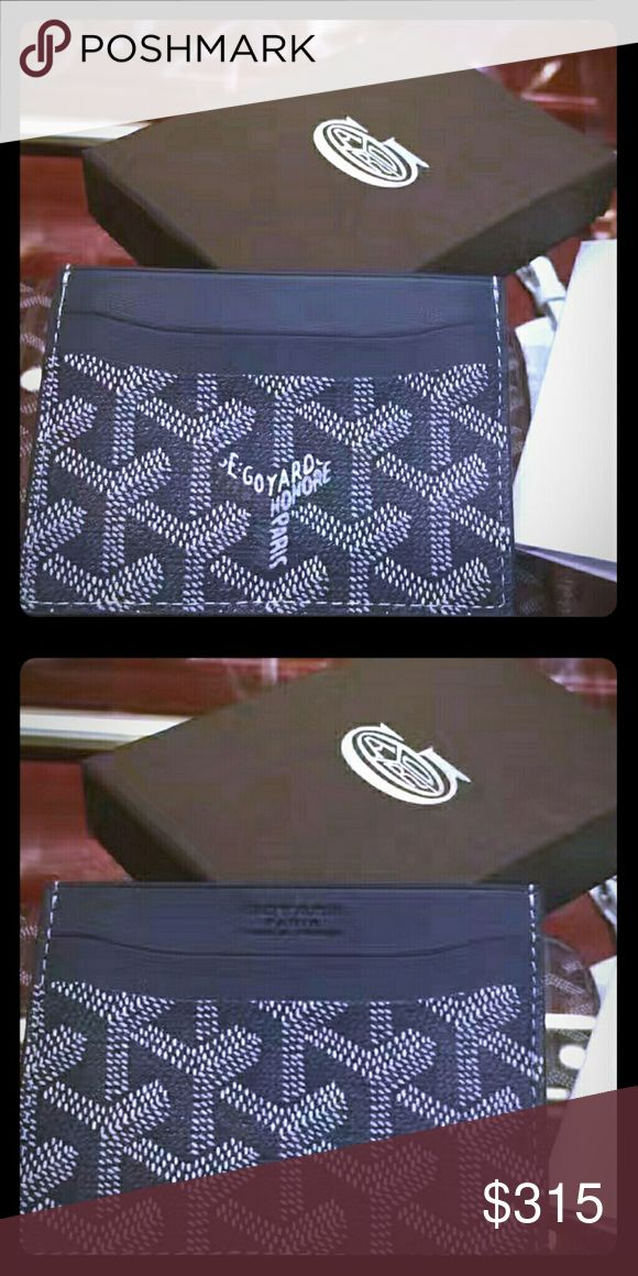 Goyard Card Holder This is a brand new Gray Goyard Card Holder with all receipts and boxes. Price is negotiable. Serious inquiries only please. Goyard Other