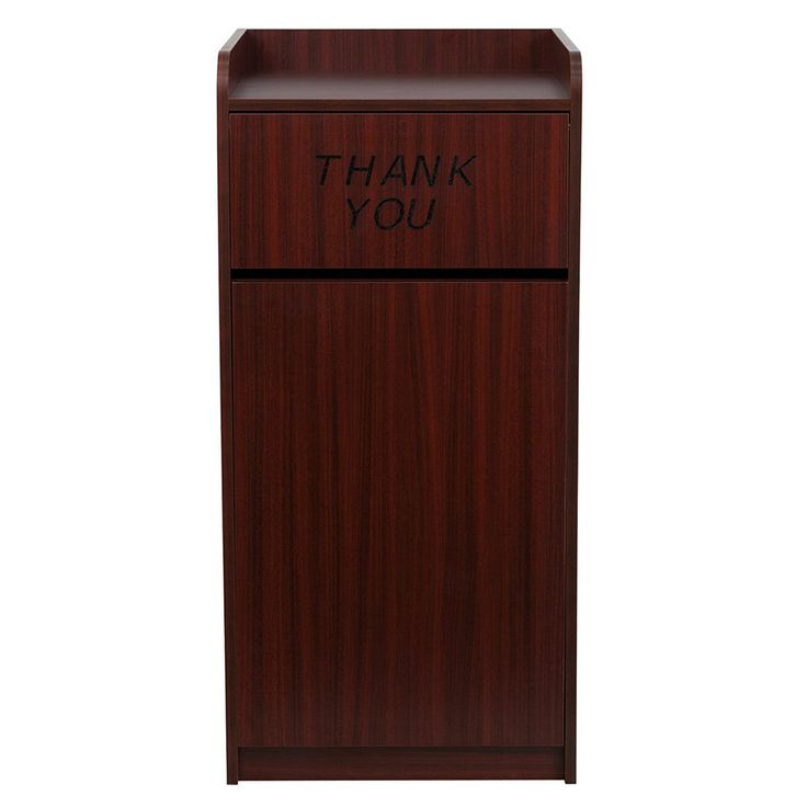 Commercial Trash Can Restaurant Tray Receptacle Large Garbage Waste Bin #trashcan #restraunt #trayreceptacle #commercialwastebin