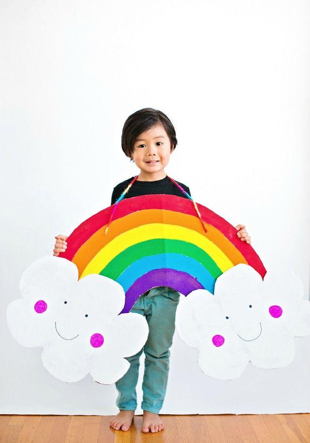 Disfraz de conejo saliendo de una chistera : Compartimos este original disfraz infantil, un conejito saliendo de una chistera, simpático diseño que puedes hacer en casa a partir de esta idea. Para el