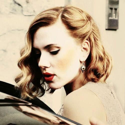 Vintage Curly Hairstyles for Short Hair #Shorthairprom - #Curly #Hair #Hairstyles #Short