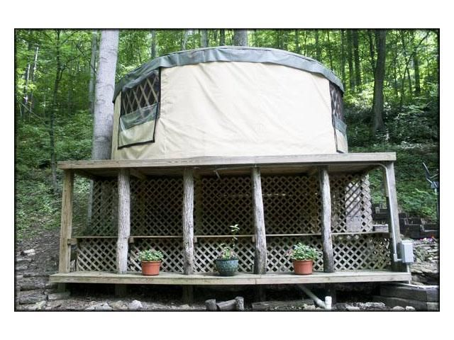 $2500 Affordable Yurt Living