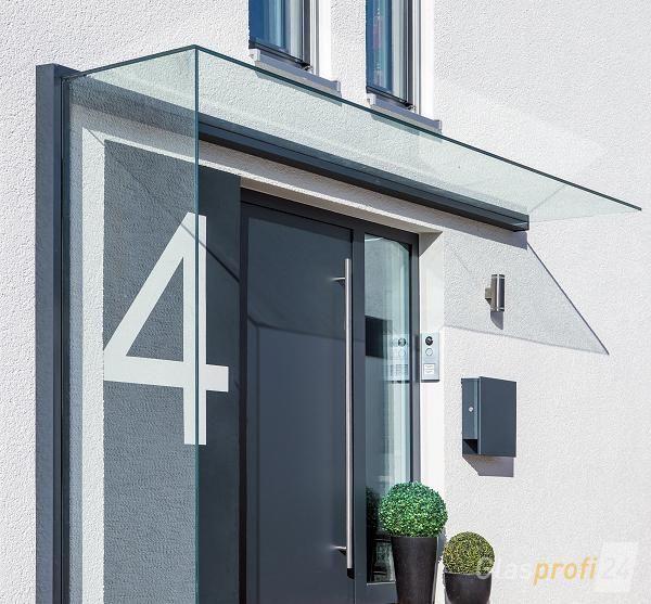 Glasvordach Und Seitenwindschutz Duravento