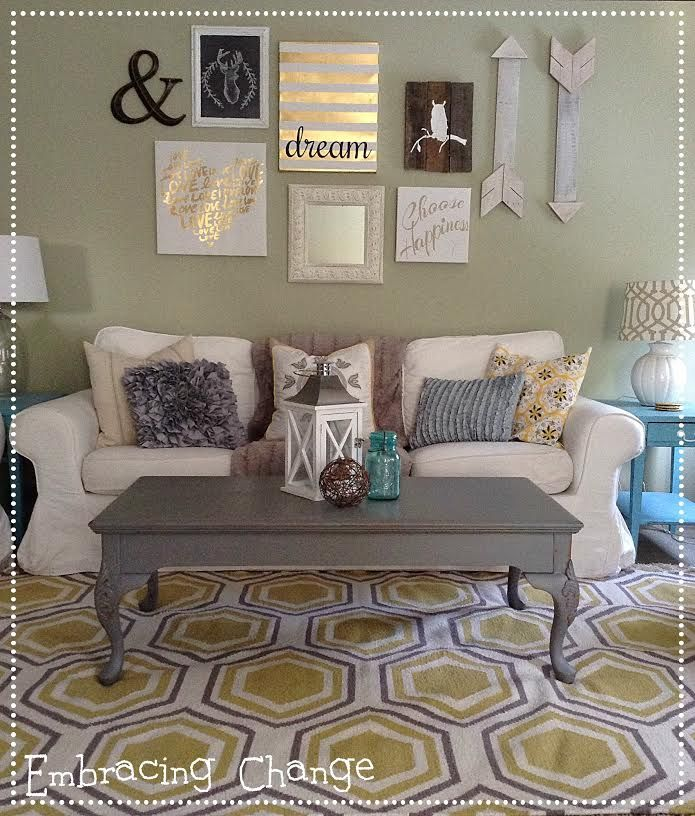 French Linen Chalk Paint Coffee Table: Best 25+ Painted Coffee Tables Ideas On Pinterest