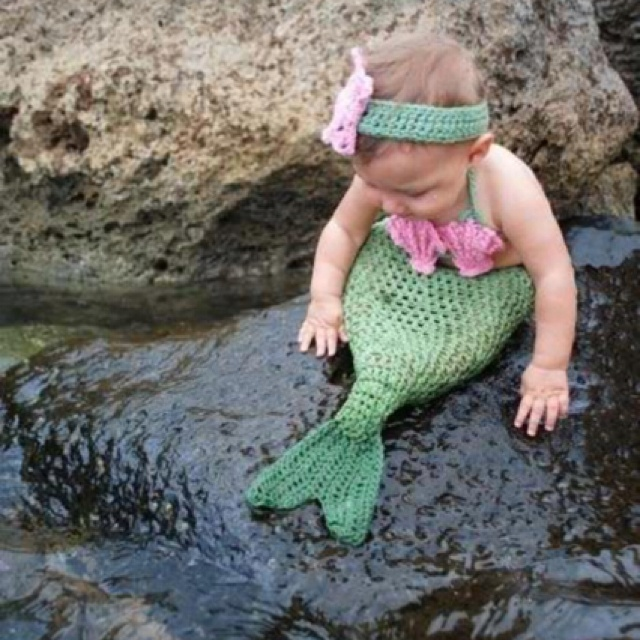 Homemade costumes - mermaid