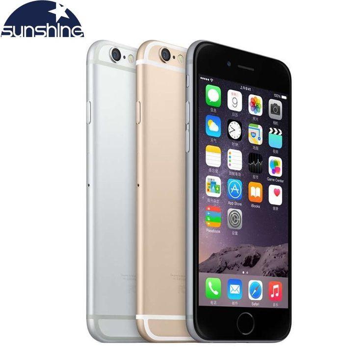 Cheap price US $231.83  Unlocked Original Apple iPhone 6 LTE 4G Cell phones 1GB RAM 16/64/128GB iOS 4.7' 8.0MP Dual Core WIFI  GPS Mobile phone  #Unlocked #Original #Apple #iPhone #Cell #phones #Dual #Core #WIFI #Mobile #phone