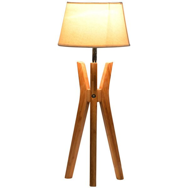 Perfect for your console and side tables, or a desk in your bedroom or study. Fabric lamp shade veils the #light for a softer illuminated look. #TripodBaseTableLamp www.industriallightingstudio.com.au