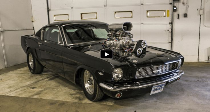 mean blown 1966 ford mustang gt pro street build. Black Bedroom Furniture Sets. Home Design Ideas