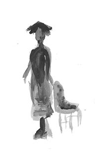 Life Drawing with Indian Ink