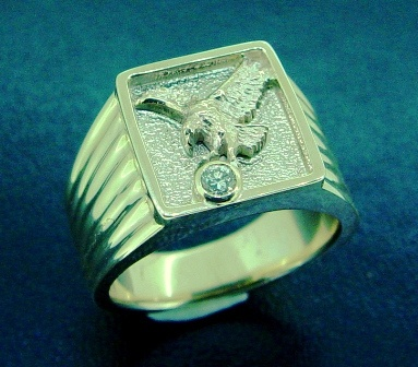 Manly Sea Eagles Ring