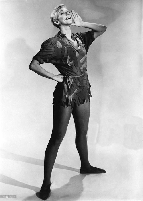 Mary Martin, Peter Pan. NBC, 1960.
