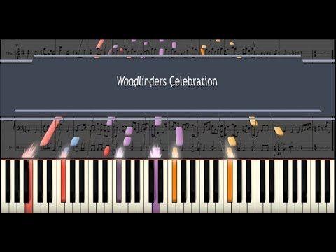 Woodlinders Celebration on piano