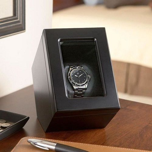 The Brookstone Single Watch Winder is an excellent choice for anyone who requires a single watch winder. The watch winder is a popular favorite among watch fanatics around the world and will ensure your watch is wound and ready to use whenever you need it.  Click here for more info: http://watchwinderboutique.com/the-best-watch-winder-reviews/