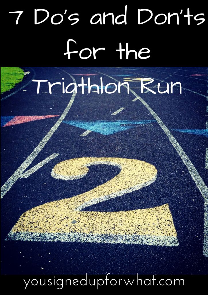 7 Do's and Don'ts for The Run
