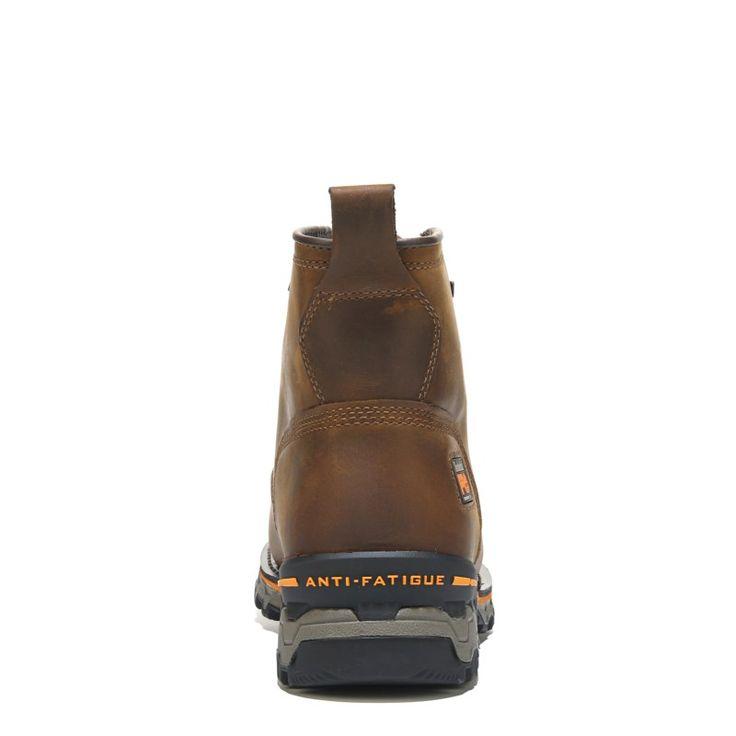 Timberland Pro Men's Boondock 6'' Medium/Wide Waterproof Composite Toe Boots (Brown Leather) - 15.0 W