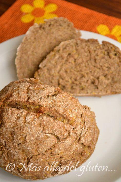 Más allá del gluten...: Pan Fácil para la Terapia Gerson (Receta Vegana, Gerson)
