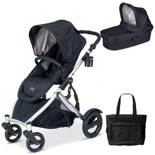 britax u281772kit5 b ready stroller and bassinett with diaper bag black http www. Black Bedroom Furniture Sets. Home Design Ideas