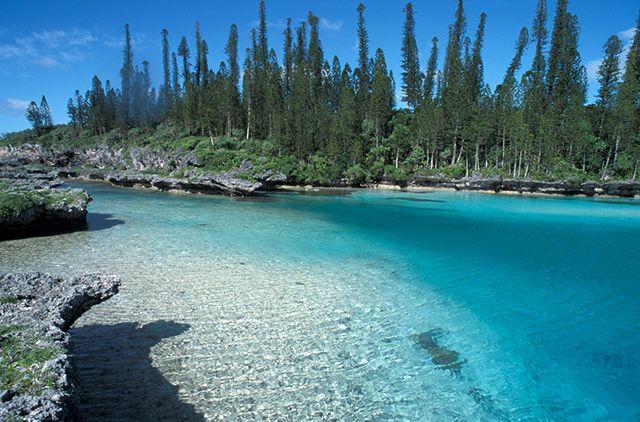 L'île des Pins et son incroyable piscine naturelle