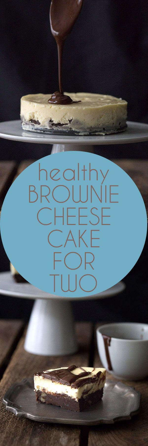 Mini Low Carb Brownie Cheesecake. LCHF THM Banting Keto Recipe.