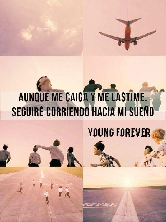 ❝ Aᴜɴǫᴜᴇ ᴍᴇ ᴄᴀɪɢᴀ ʏ ᴍᴇ ʟᴀsᴛɪᴍᴇ, sᴇɢᴜɪʀé ᴄᴏʀʀɪᴇɴᴅᴏ ʜᴀᴄɪᴀ ᴍɪ sᴜᴇñᴏ. ❞  ―Young Forever. ❤ツ
