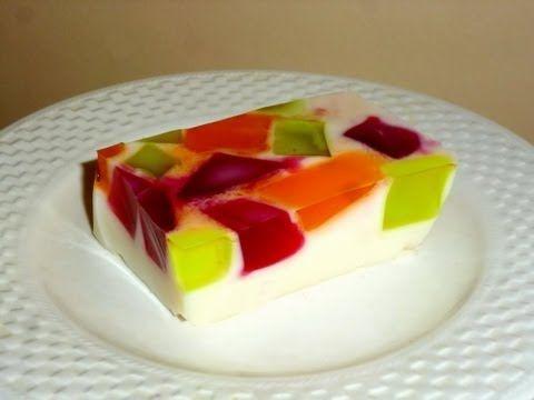 "Десерт: Суфле ""Самоцветы"" - СУПЕР ВКУСНО!!! - YouTube"