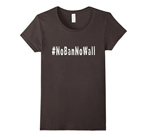 Women's #NoBanNoWall Tshirt Medium Asphalt LoneStarDesigns https://www.amazon.com/dp/B01MZF0NJ6/ref=cm_sw_r_pi_dp_x_n0OJybY3BCHGK #NoBanNoWall
