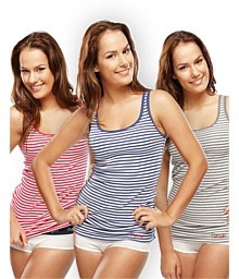 www.nzallblacks.net  Rugbygirl Striped Singlet. Made from 100% ribbed cotton Scoop neck, full back, embroidered rugbygirl logo on left hem Great singlet for the gym or everyday wear Available in 3 colours #women #rugby #health #fitness