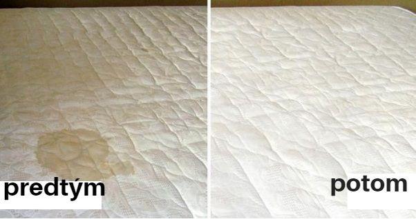 Ako vyčistiť matrac ktorý ma fľak? Ide to jednoducho a rýchlo za pár minút | Chillin.sk                                                                                      200 ml – 3 percentného peroxidu vodika kvapka tekutého mydla alebo čistiaceho prostriedku na riad 3 lyžičky jedlej sódy