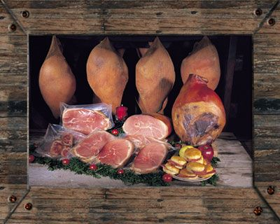 how to prepare country ham slices