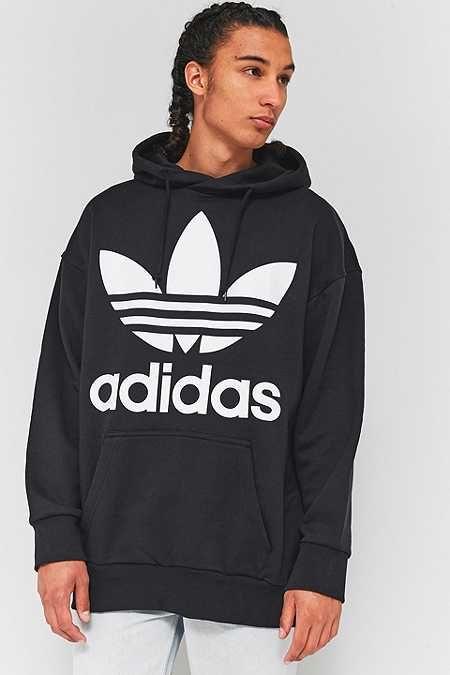 adidas Adicolor Oversized Black Hoodie