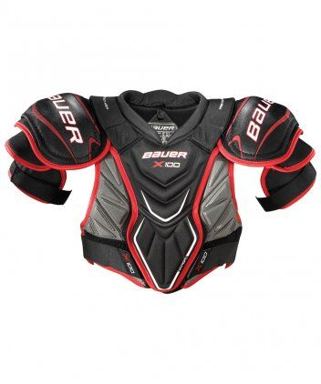 BAUER VAPOR X 100 SR HOCKEY SHOULDER PADS